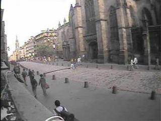 Edinburgh Royal Mile webcam
