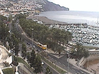 Funchal beach webcam
