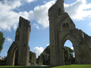 Glastonbury abbey web cam