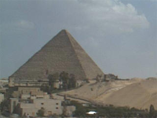 Great Pyramid webcam view