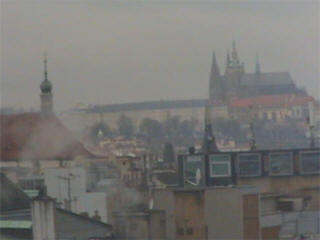 Prague castle web cam