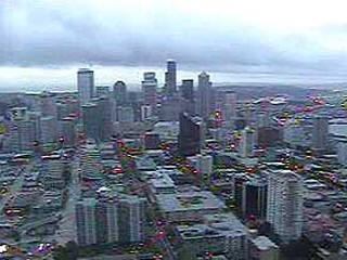Space needle view webcam html
