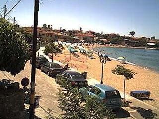 Stoupa webcam - Stoupa and Kalogria Beach webcam, Peloponnese, Messenia