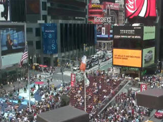 Times Square webcam