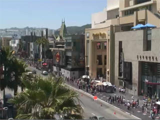 Hollywood boulevard web cam